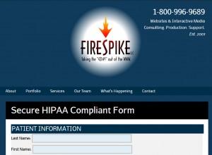 HIPAA online compliance form