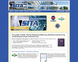 SITA-TAB web design client.
